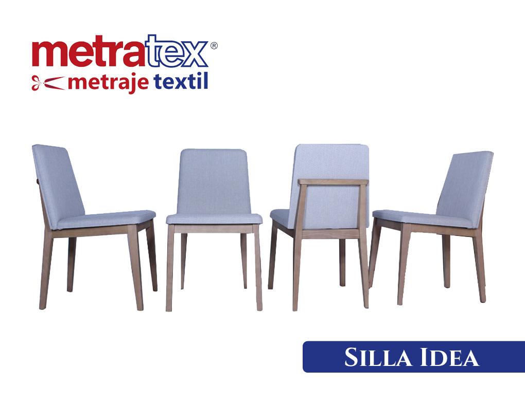 Conjunbto de sillas modelo Idea