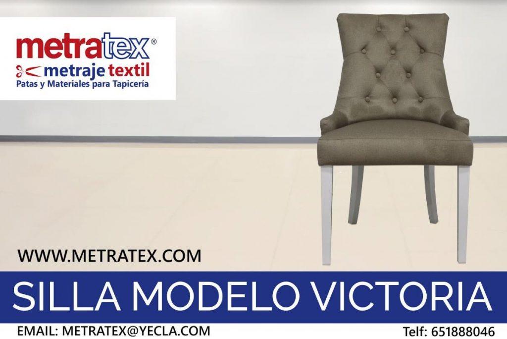 Silla Victoria Tela Metratex