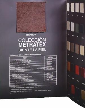 Catálogo de piel de Metratex