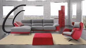 materiales de tapicería para el sofá